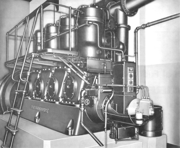 Fairbanks-Morse 32-14 engine