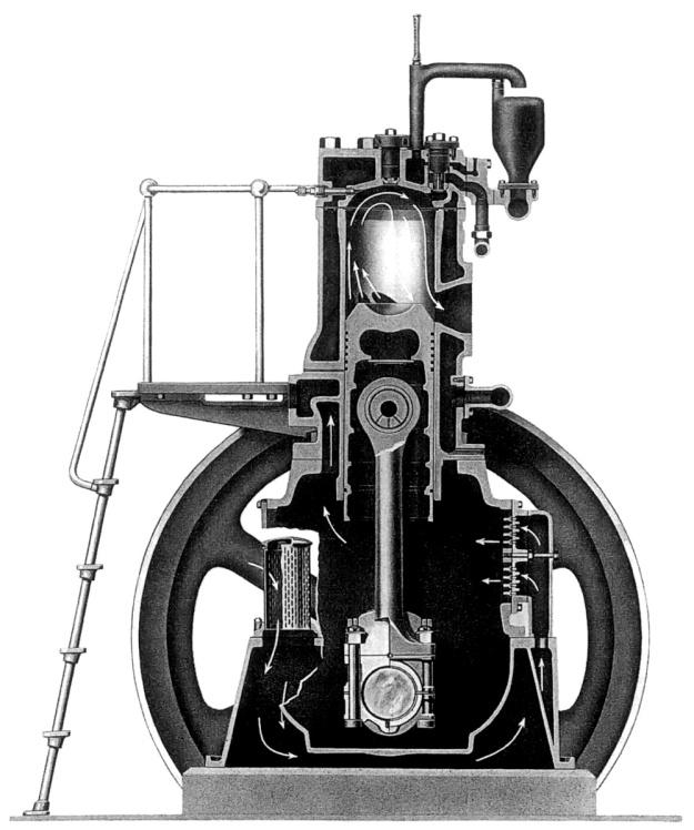 Fairbanks-Morse 32E cutaway