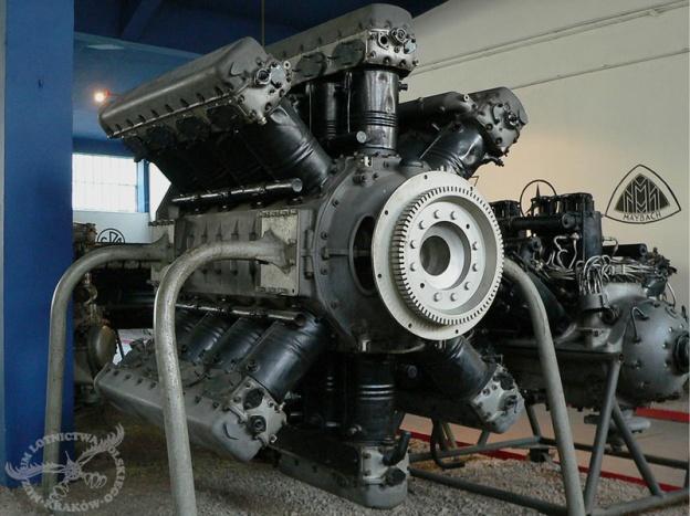 The 24-cylinder Argus As 5. (Polish Aviation Museum Krakow image)