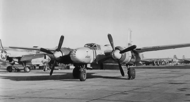 Douglas XA-26D 41-39543 4-blade