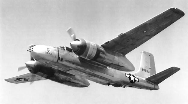Douglas XA-26D 41-39543