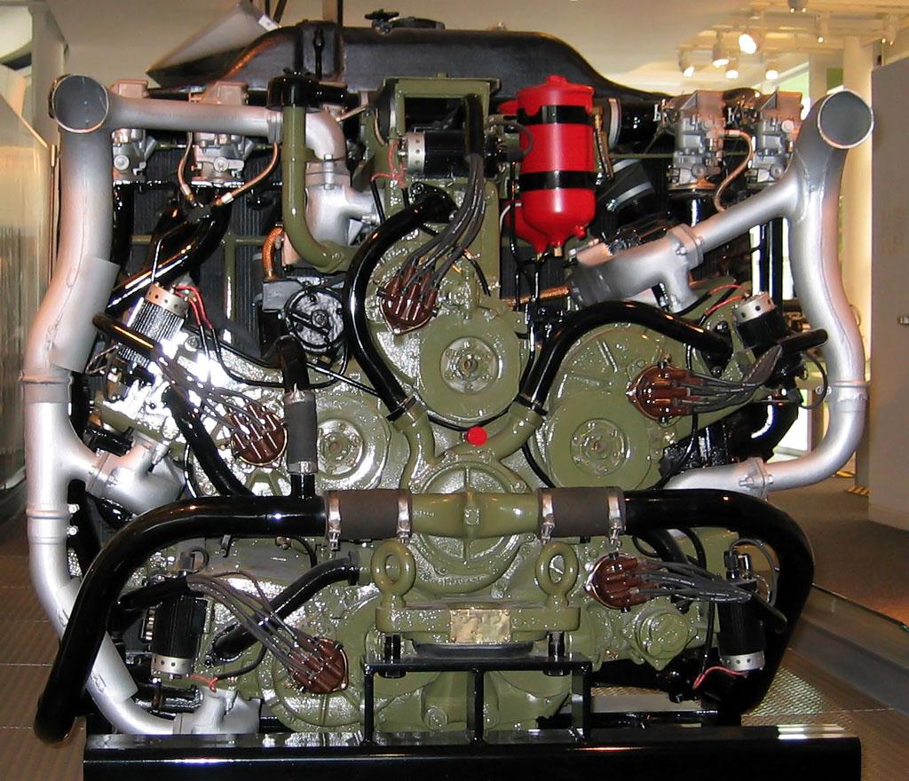 Chrysler A57 Multibank Tank Engine Old Machine Press