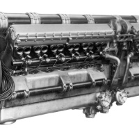 FIAT AS.6 Aircraft Engine (for the MC.72)