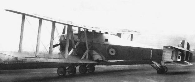 The second Blackburn Cubaroo (N167) with the revised radiator to cool the Napier Cub.