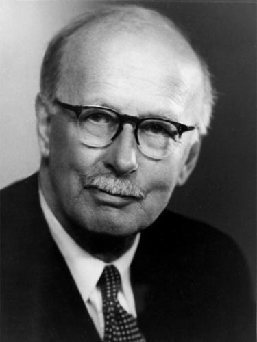 Sir Harry Ricardo as seen in 1955 at age 70.
