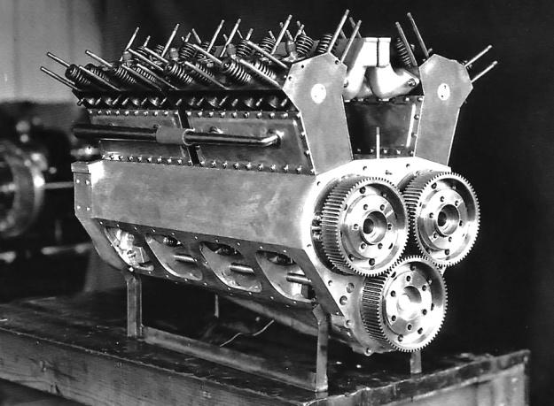 Lockhart Stutz Black Hawk engine