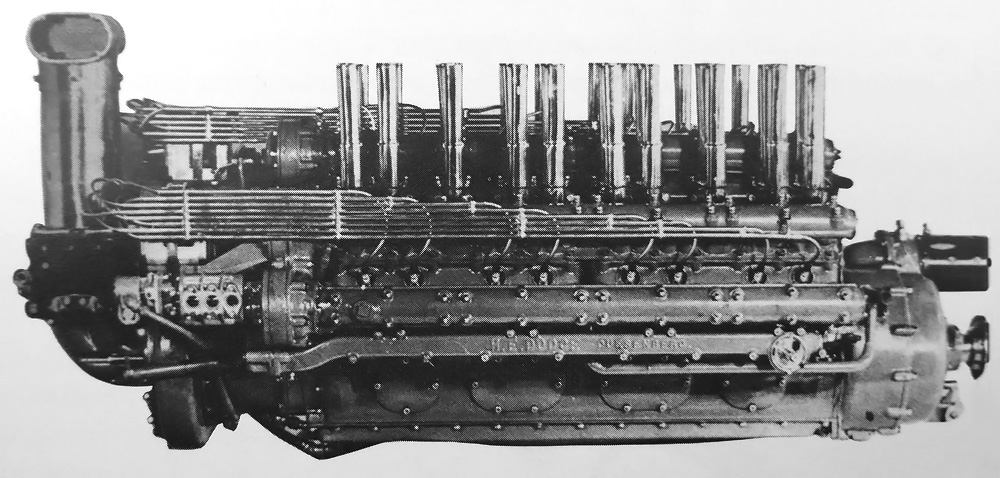 Duesenberg w 24 marine engine old machine press side view of the j paul miller developed duesenberg w 24 engine malvernweather Choice Image