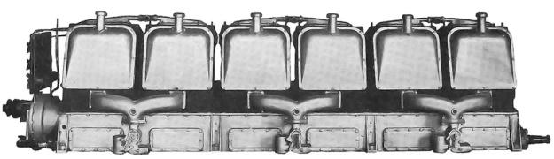 Duesenberg Inline-12 Marine engine