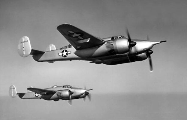 Beech XA-38 Grizzly air 2