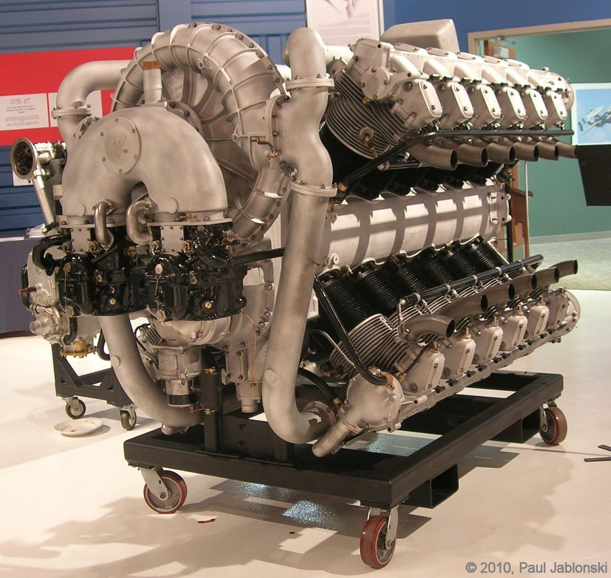 Allison X-4520 24-Cylinder Aircraft Engine