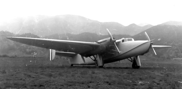 Piaggio P.23M front