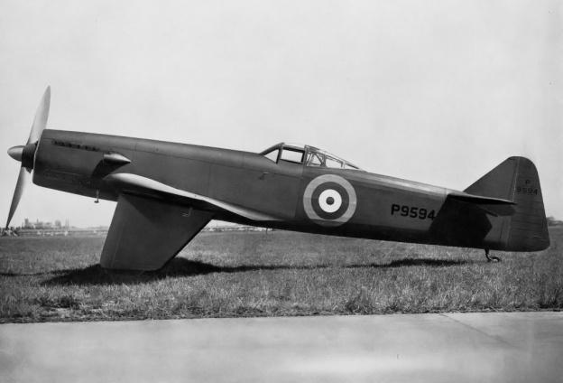 Martin-Baker MB2 final tail