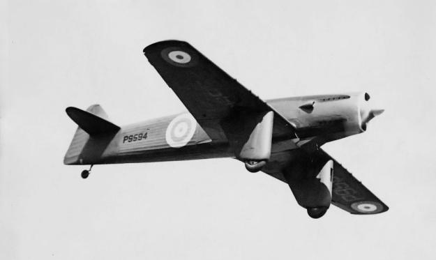 Martin-Baker MB2 flight
