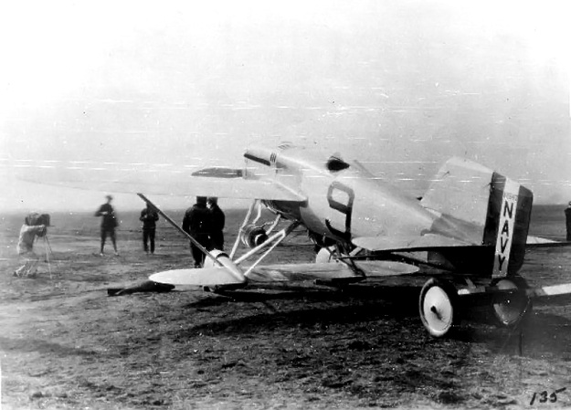 Navy-Wright NW-1 Pulitzer rear