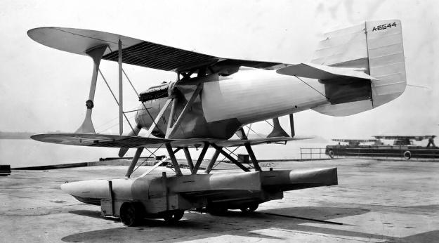 Navy-Wright NW-2 rear