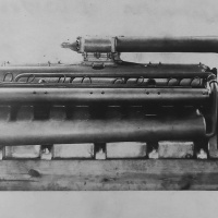 Miller 1,113 cu in V-16 Marine Engine