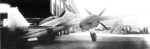 Mitsubishi Ki-83 rear