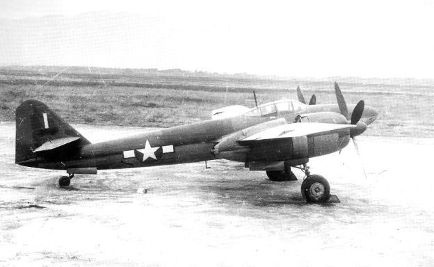 Mitsubishi Ki-83 side