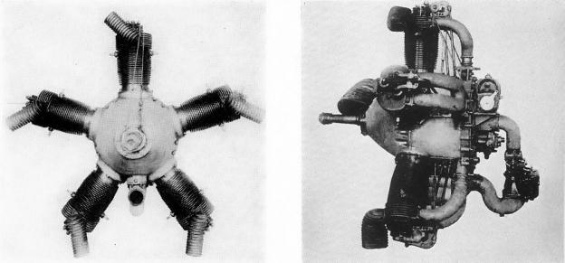 Moore three valve engine