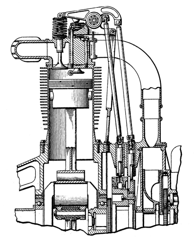 Moore three valve section