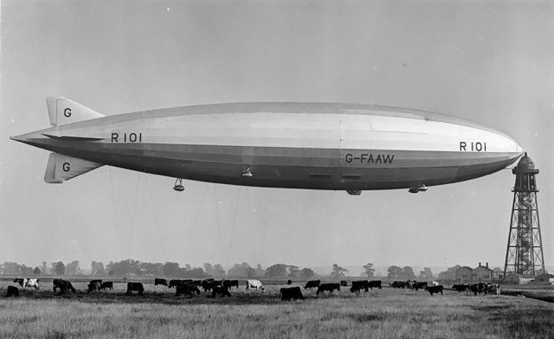 Beardmore Tornado-powered R101