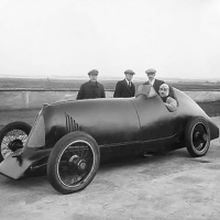 Djelmo Land Speed Record Car