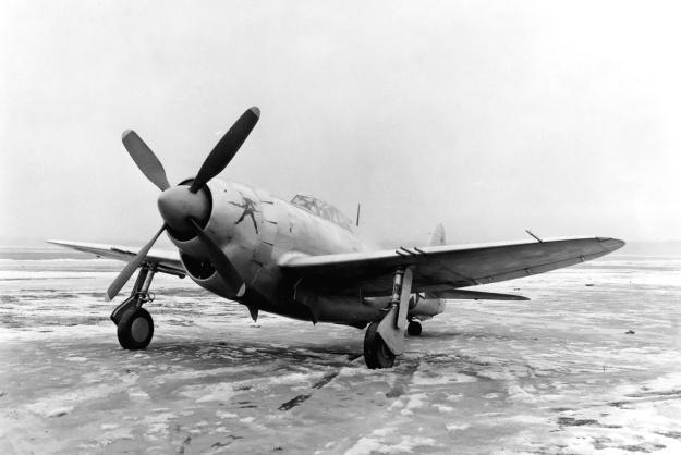 Republic XP-47J front left
