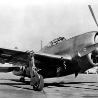Republic XP-47J Superbolt Fighter