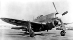 Republic XP-47J front