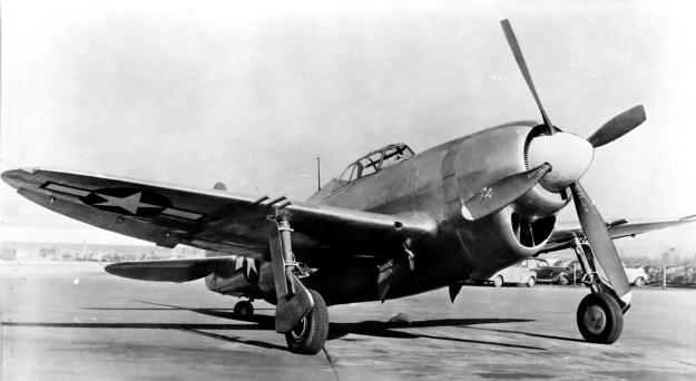Republic XP-47J front