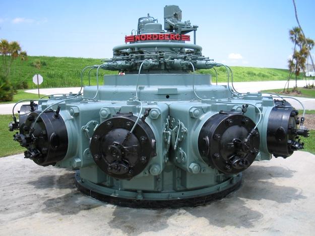 Nordberg 11-cylinder radial engine FL