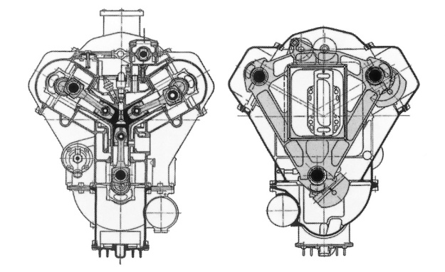 Michel 3-cylinder section