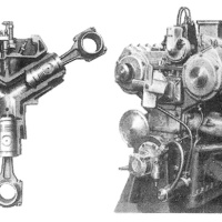 Michel Opposed-Piston Diesel Engines