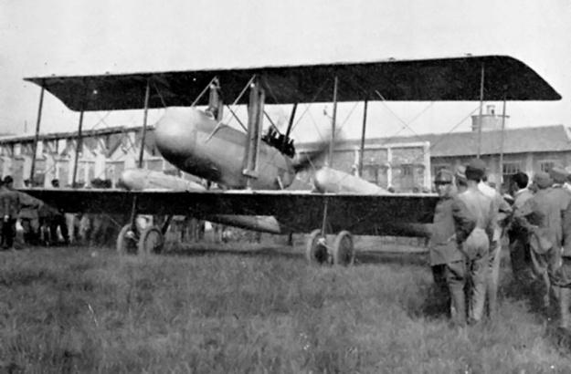 Caproni Ca 38 front