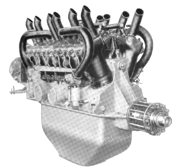 Lancia V-12 aircraft engine