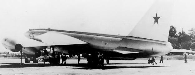 Myasishchev M-50 rear