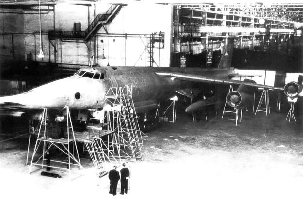 Myasishchev M-52 mock-up