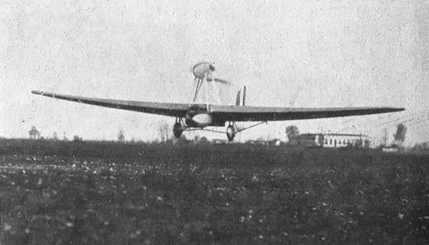 savoia-marchetti s64 bis landing