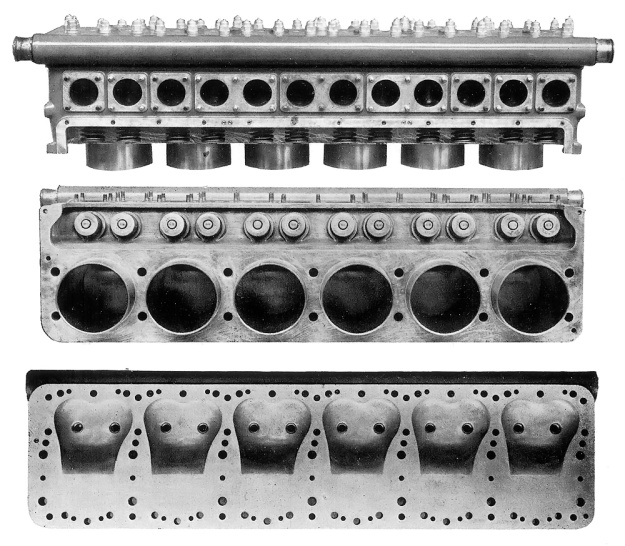 Hispano-Suiza Type 86 head and cyl bank