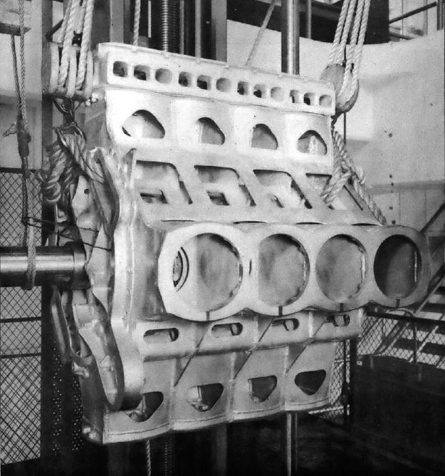 GM 16-184 crankcase