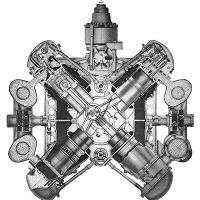 General Motors / Electro-Motive 16-184 Diesel Engine