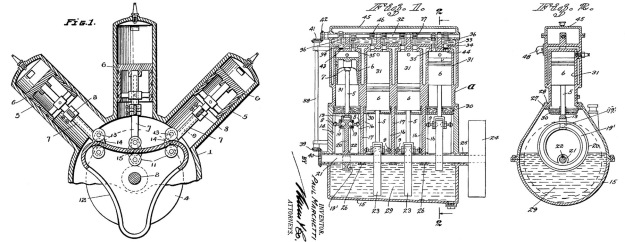 Marchetti Motor Patents