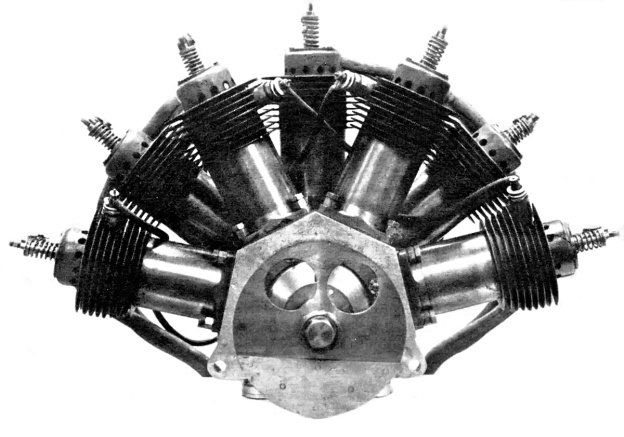 R E P Fan Semi Radial Aircraft Engines Old Machine Press
