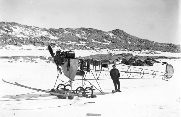 Vickers REP in Antarctica