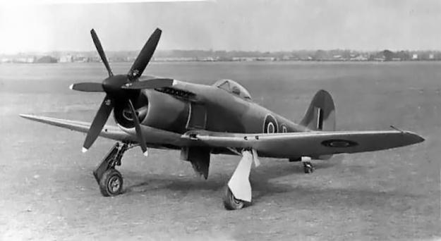 Hawker Fury Griffon LA610