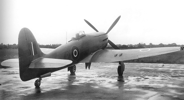 Hawker Fury Sabre LA610 rear