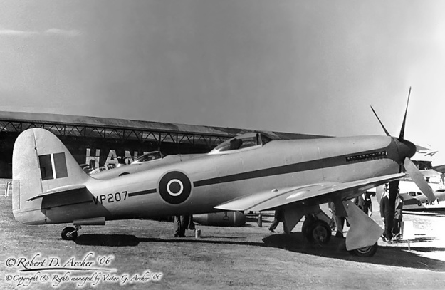Hawker Fury Sabre VP207