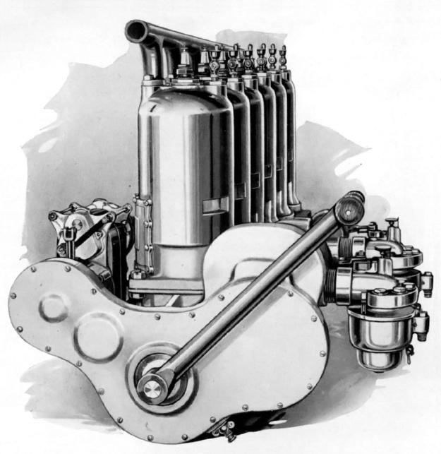 Roberts 6-X 1913 rear