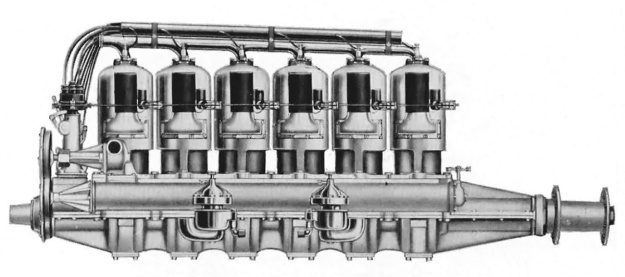 Roberts 6-XX engine