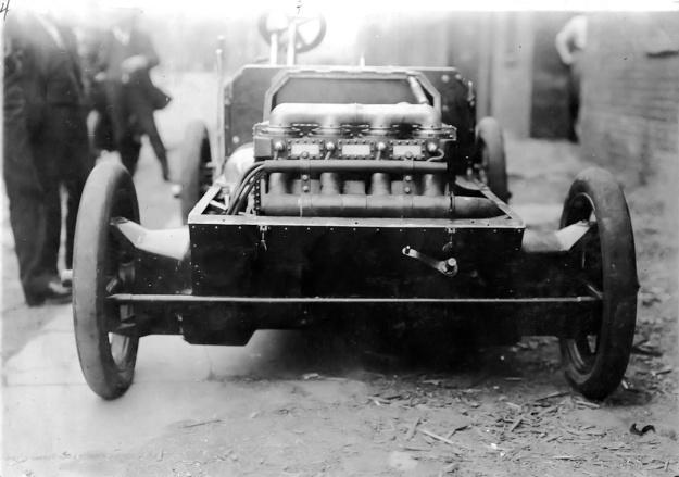 Christie 1903 Auto front